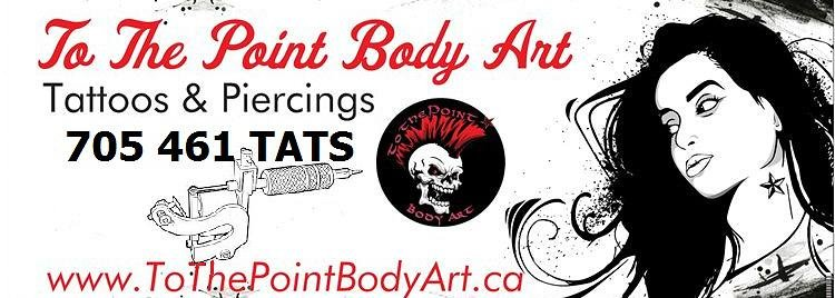 To The Point Body Art Banner Image
